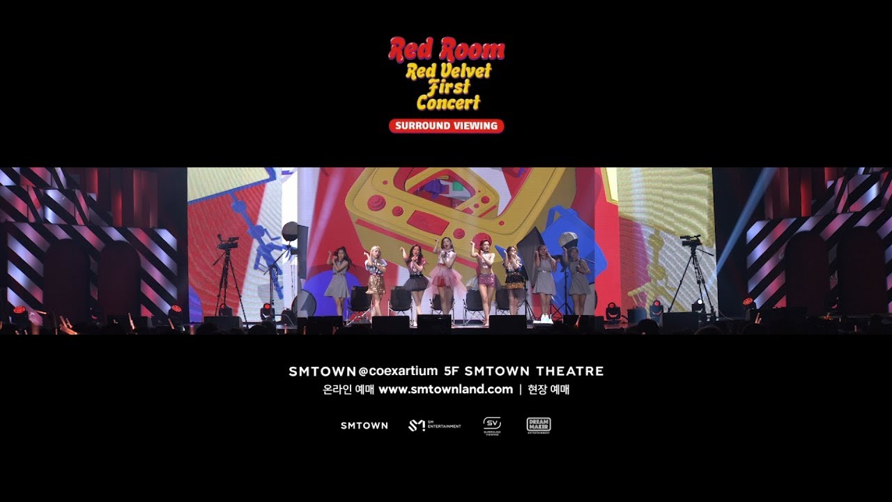 Red Velvet 1st Concert – Red Room – SURROUND VIEWING_TEASER