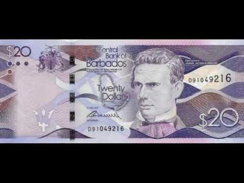 Paper Money Of Barbados Is The Barbados Dollar - Bills - Bonistika