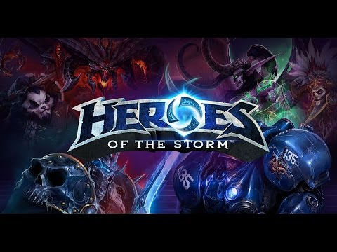 Heroes of the Storm - Teaching waifu to play / Pre-drunkthrough