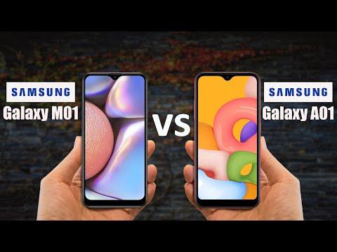 Samsung Galaxy M01 Vs Samsung Galaxy A01