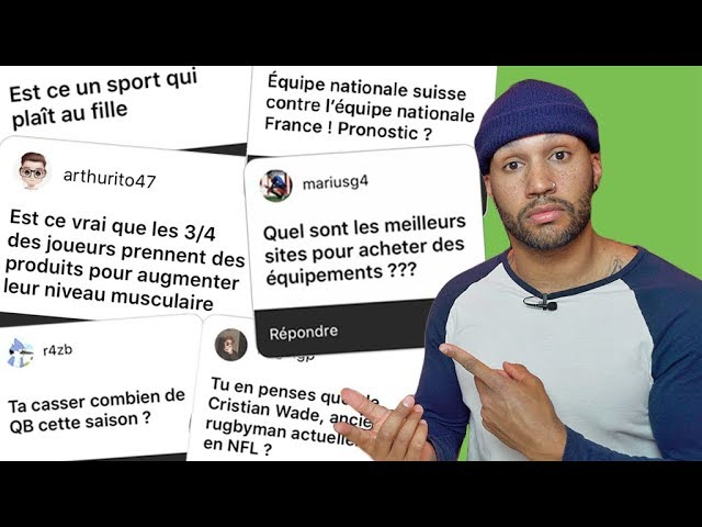 42 QUESTIONS SUR LE FOOTBALL AMERICAIN ! #FAQ