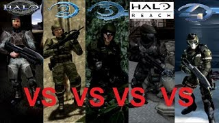 Which Halo Game Has The Strongest Marines?