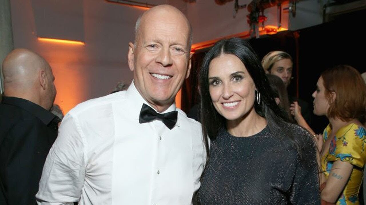 Demi Moore, Bruce Willis reunite to self-isolate with their daughters ...