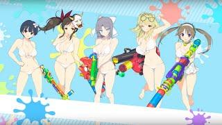 Senran Kagura: Peach Beach Splash Official Gessen Girls