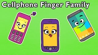 Cellphone Finger Family and More | MOMMY FINGER KIDS SONGS | Baby Songs from Mother Goose Club!