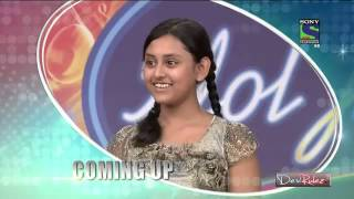 Debanjana in Indian Idol Junior - Kolkata audition