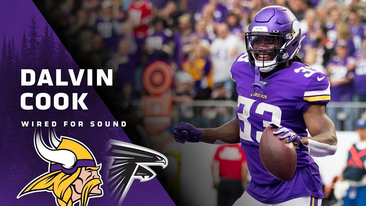 Wired For Sound Dalvin Cook Vs Atlanta Falcons Minnesota Vikings