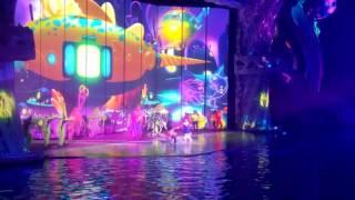 Затеряный мир - шоу в Москвариуме (видео 11)