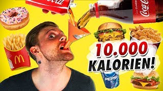 Ansage an inscope21 - 10.000 Kalorien Challenge
