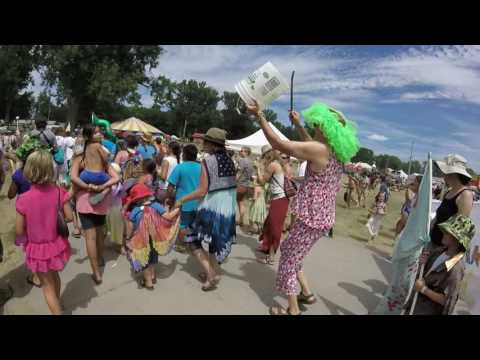 Fingerlakes Grassroots Festival of Music and Dance 2016: Happiness Parade