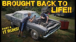 Gambar cover ABANDONED Muscle Car Revival! First Start in 35 years! -- Part 4