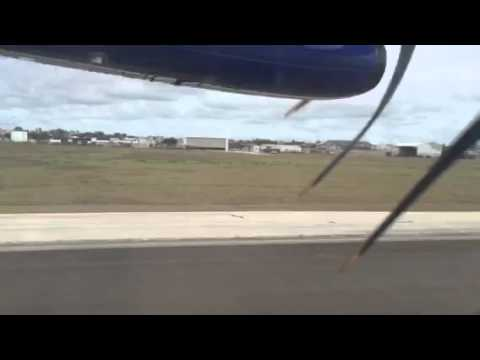 Landing at Grantley Adams International Airport, Bridgetown, Barbados