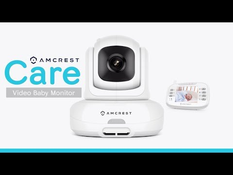 AC-2 Amcrest Care Video Baby Monitor