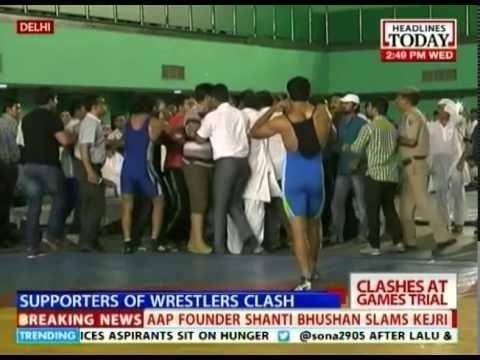 Strange Incident At Asian Games Wrestling Trial Event