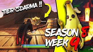WHERE is the FIFTH FREE TIER FOR SEASON 8 (Week 9)-Fortnite Battle Royale CZ/SK