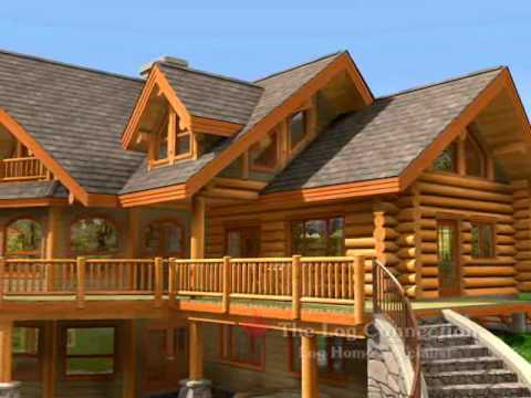 Bavarian Dream Stacked Log Home by The Log Connection YouTube
