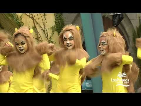 Festival de Disfraces Infantiles del Carnaval de Las Palmas de Gran Canaria 2020