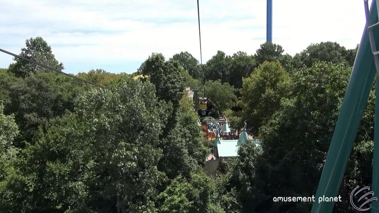 Merveilleux Aeronaut Skyride [Busch Gardens Williamsburg]