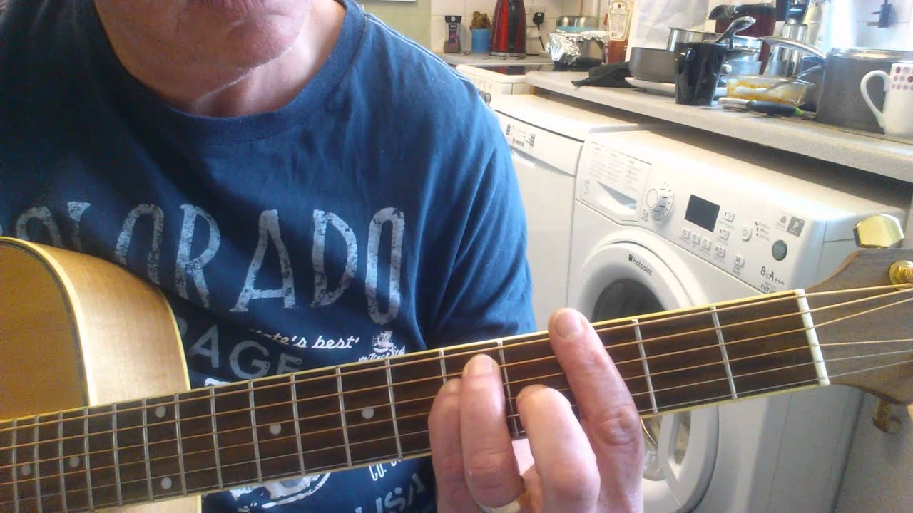 Shine on you crazy diamond guitar lesson - YouTube