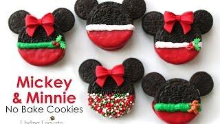 Mickey &amp Minnie Mouse Christmas Oreo Cookies  Living Locurto