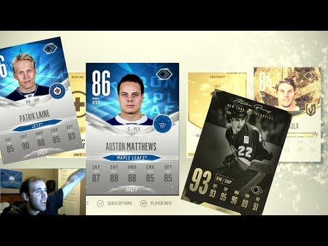 New Legends and Evolution - NHL 18 pack opening