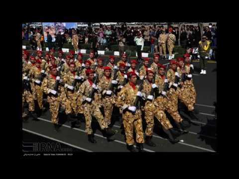 Iran shows military might and new weapons in a parade in Bandar Abbas 22/9/2017
