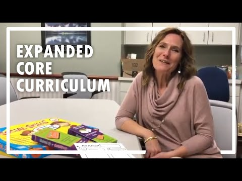 The Expanded Core Curriculum In Action