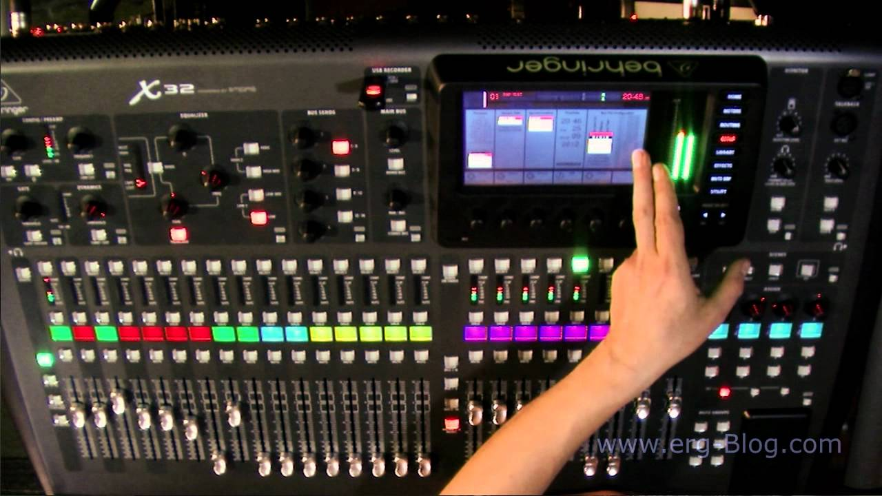 Behringer X32 Review 9 Global Settings Setup Youtube