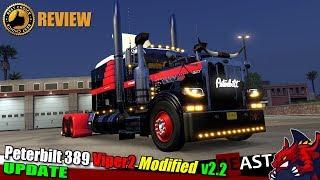 "[""ATS"", ""American Truck Simulator"", ""truck mod"", ""Peterbilt 389 Modified VIPER2 v2.2 (1.31)""]"