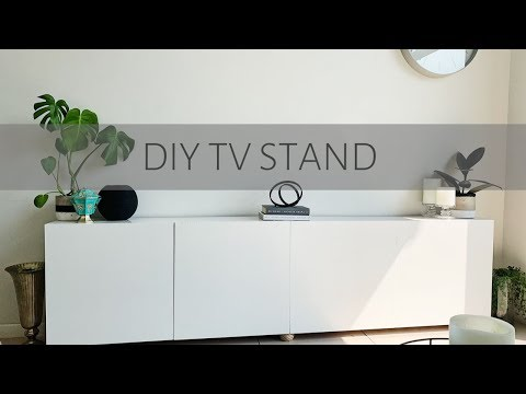 DIY TV Stand | SOUTH AFRICAN DIY YOUTUBER