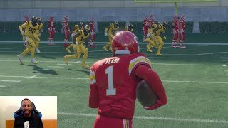 Can the Flash Score a 1,000,000yd Touchdown in Madden!!? SPEED FORCE TOO FAST! Madden Gameplay