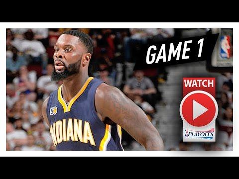 Lance Stephenson Full Game 1 Highlights vs Cavaliers 2017 Playoffs - 16 Pts, 7 Reb