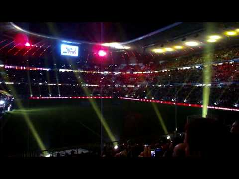 allianz arena munich light show youtube. Black Bedroom Furniture Sets. Home Design Ideas