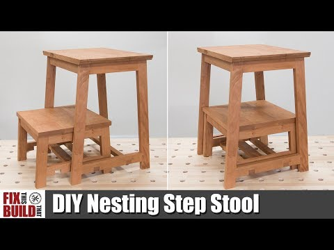 DIY Nesting Step Stool | How To Build