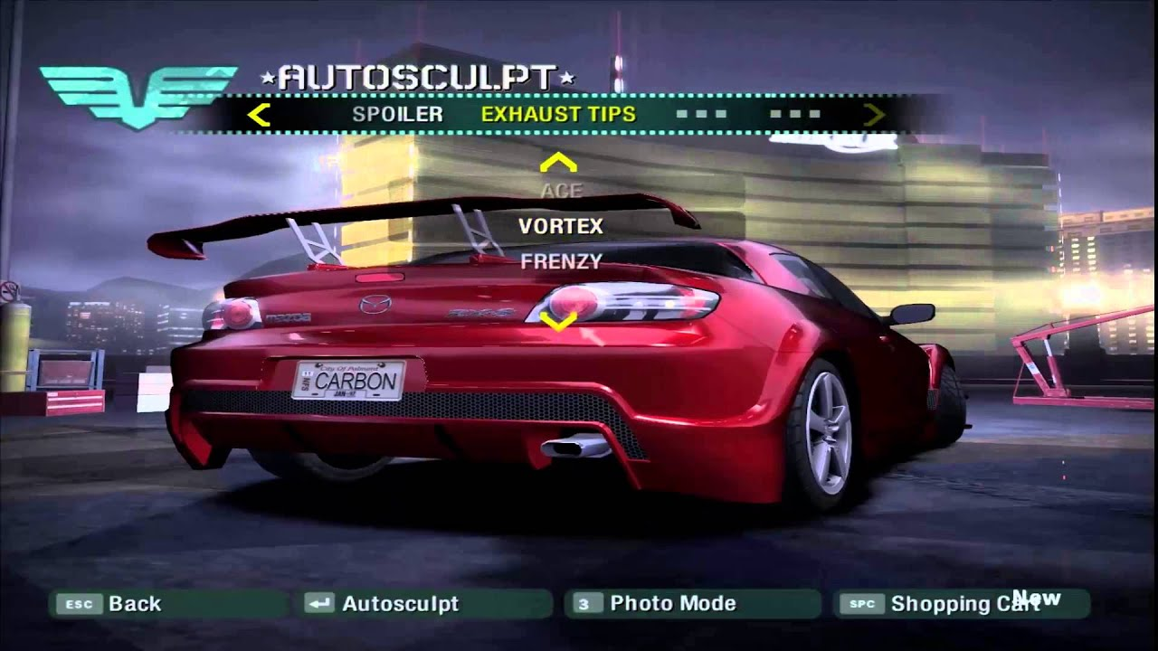 need for speed carbon mazda rx8 tuning youtube. Black Bedroom Furniture Sets. Home Design Ideas