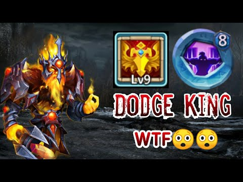 Phantom King | 9/9 Blade Dance | 8 Nimble | Crazy Dodge | Castle Clash