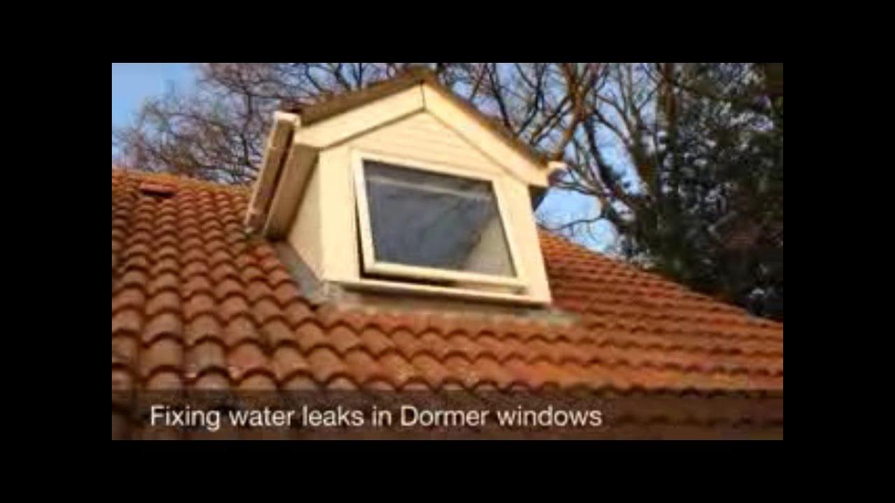 How to Fix Dormer Window Water Leaks  YouTube