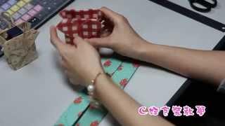 DIY愛心型紙袋 ♥ 禮物包裝 ♥ 情人節