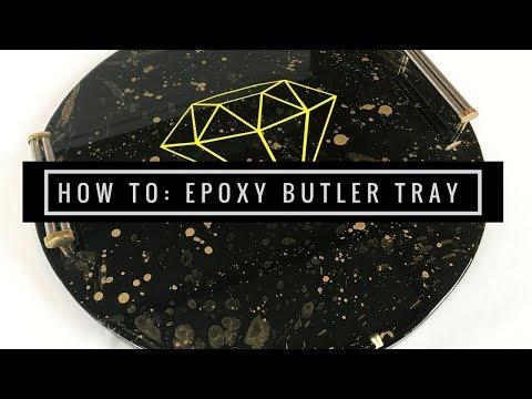 Epoxy Resin - Spray Paint - Decal Logo by Liquid Glass Epoxy