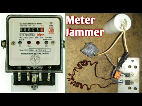 Digital Meter Stop Circuit Device Electric Meter Jammer Meter Slow Meter Hack Meter Reading Back Youtube