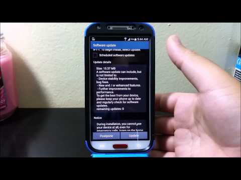 T-Mobile Samsung Galaxy S4 System Update