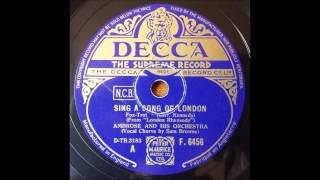 Sing a Song of London, Ambrose, 1937