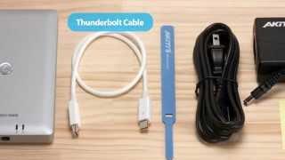 mqdefault - [Cyberport] Akitio Thunder2 Dock Thunderbolt2/USB3.0/eSATA/FireWire 800 für 185€