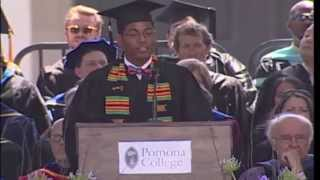 Darrell Jones III - Pomona College Commencement - May 18, 2014