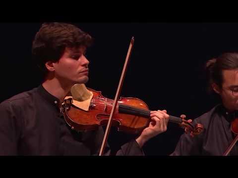 Matias Vestergård: TRÆK (movements for string quartet) / Quatuor Elmire