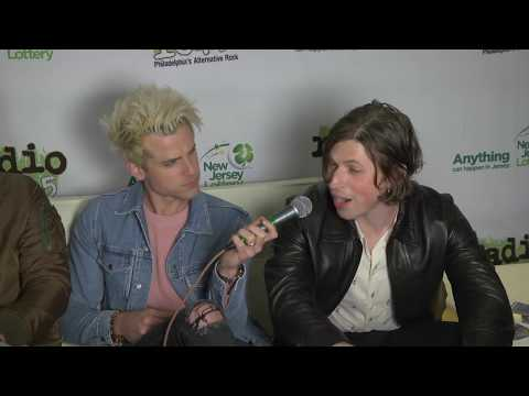 Kings Of Leon Interview at Radio 104.5's 10th Birthday Celebration