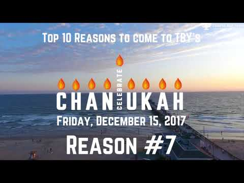 Top 10 Reasons to come to Celebrate Chanukah: Reason #7