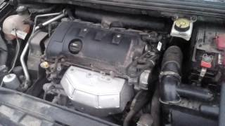 Peugeot 408 проблемы с двигателем на холостых мороз -20