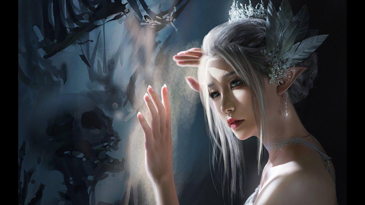 【Tình Tình】❀ Hướng Dẫn Makeup Băng Công Chúa 《Hải Cầm Yên》 |【晴晴】 鬼刀·冰公主·海琴烟