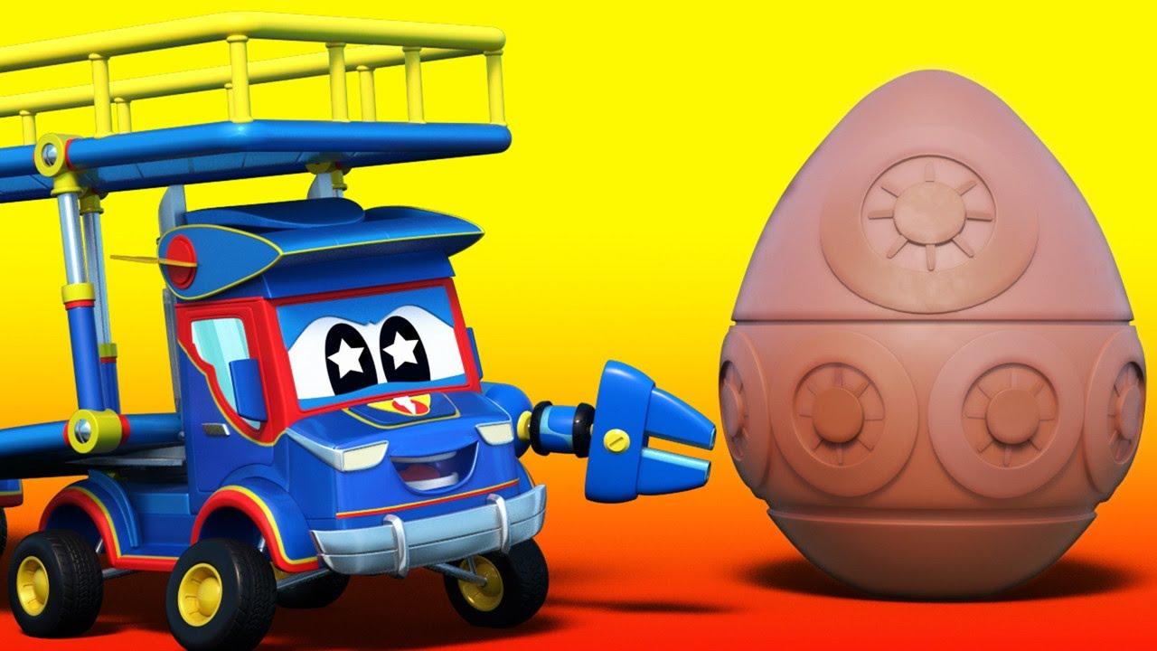 Σούπερ Φορτηγό - ΠΑΣΧΑ: Κυνήγι για τα Χαμένα Πασχαλινά Αυγά - Αυτοκινητούπολη - Καρτούν για παιδιά